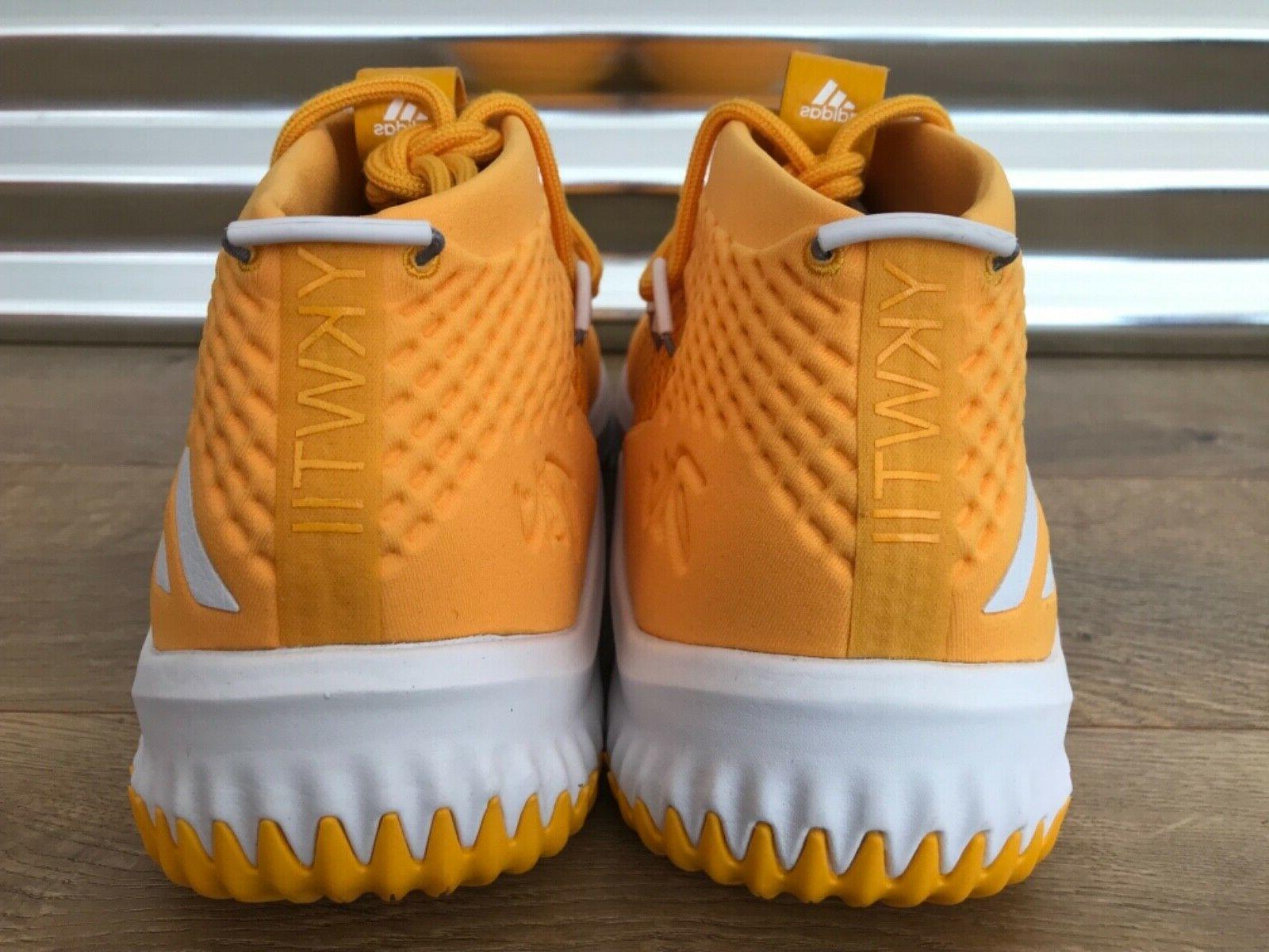 Adidas 4 NBA Basketball Gold White NIB