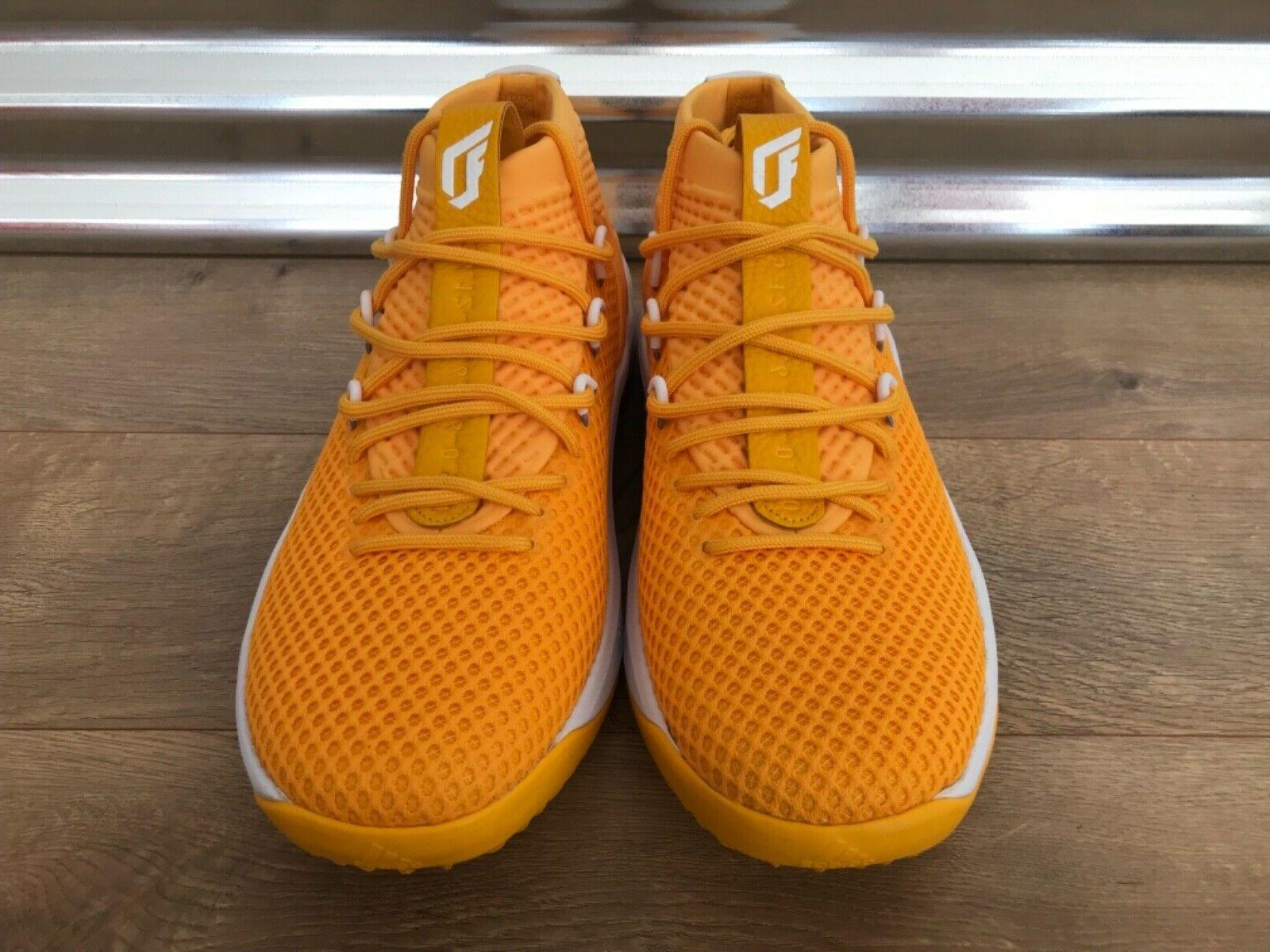 Adidas SM NBA Shoes Gold White NIB