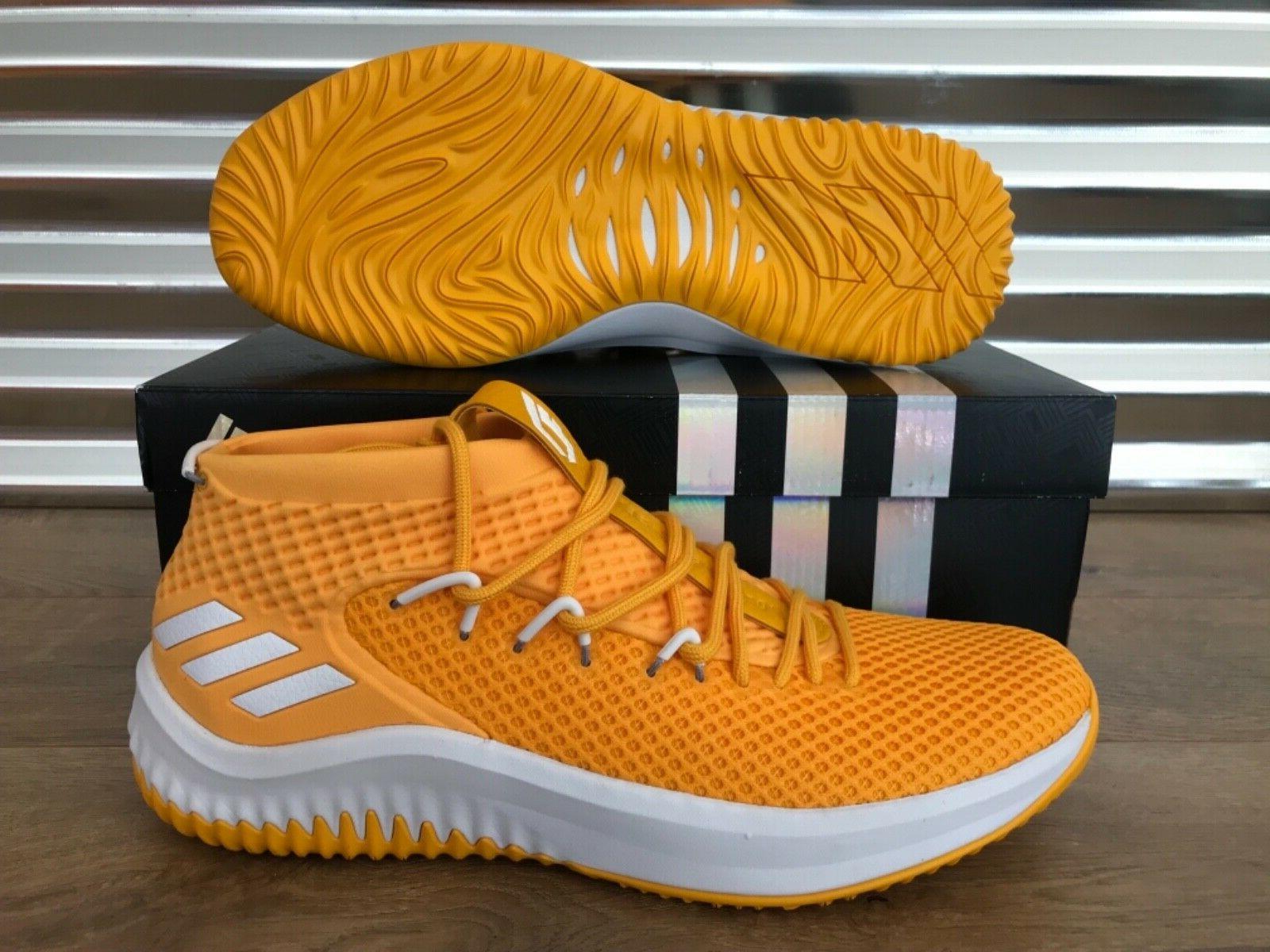 sm dame 4 nba basketball shoes yellow