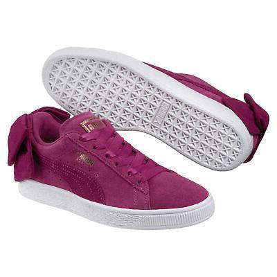 suede bow womens sneakers women shoe sport
