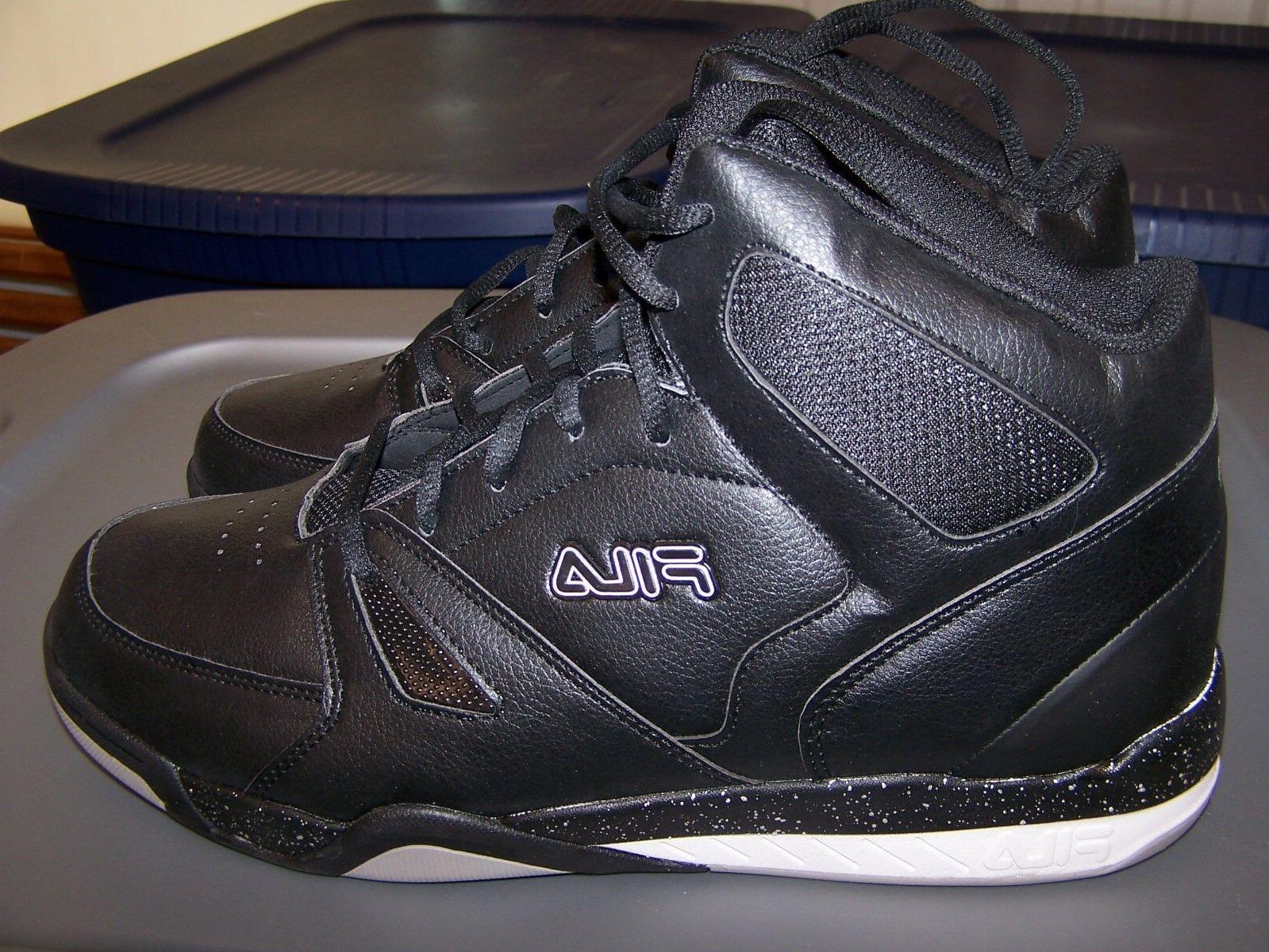 Fila Thunderceptor 2 Basketball Shoes Sneakers High Black Men's size 11.5