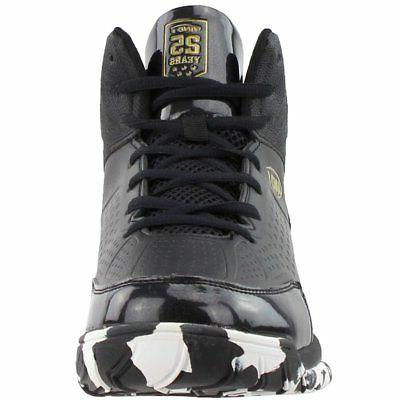 AND1 Tipoff Basketball Court Shoes Black - Mens