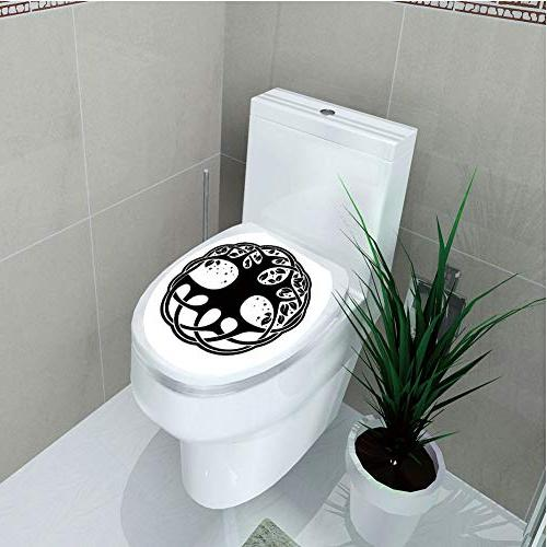 toilet cover decoration
