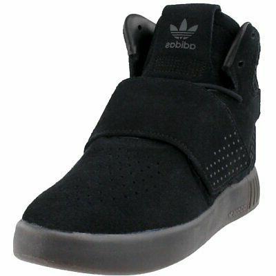 tubular invader strap athletic basketball court shoes