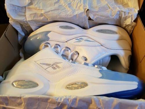 Reebok US Men's Size 13 Question Basketball Shoes Blue FX5000
