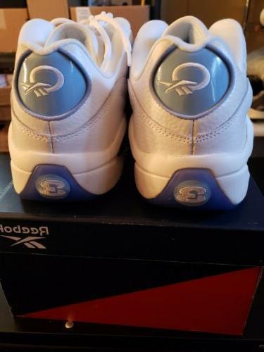 Reebok 13 Question Low Shoes White/Fluid