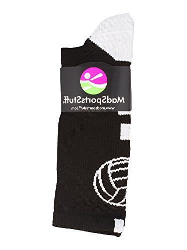 MadSportsStuff Logo Crew Socks
