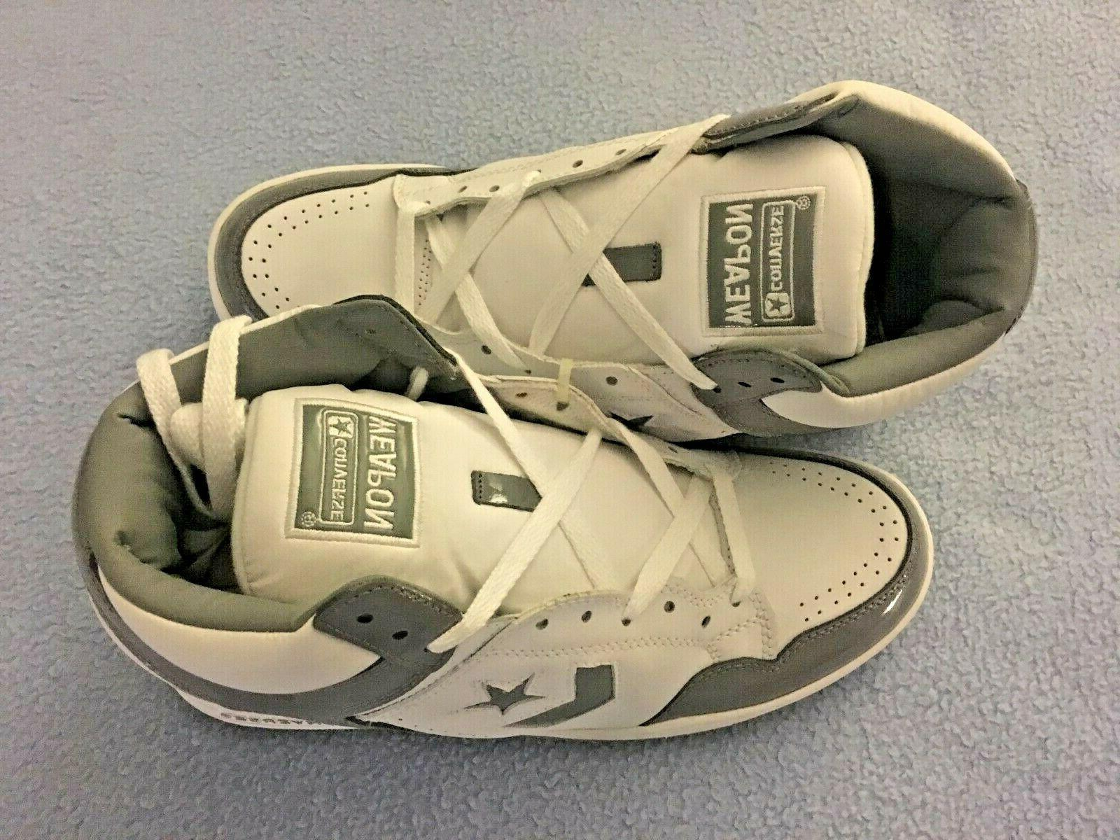 CONVERSE WEAPON HI Grey Basketball Shoes Size 10