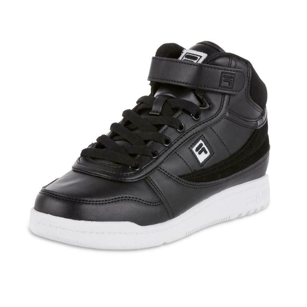 Fila Women's BBN 84 Casual Shoe Sneaker White retro high top