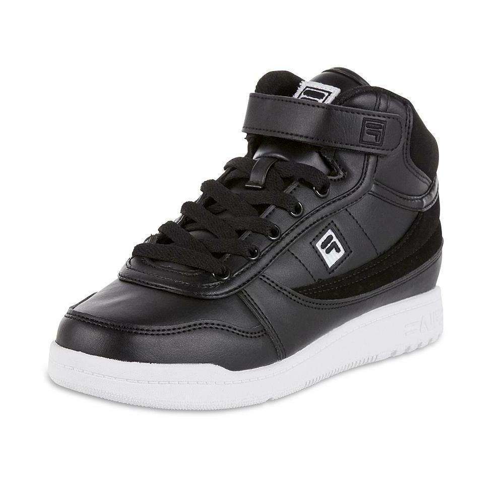 Fila Women's BBN 84 Casual Shoe Sneaker Black retro high top