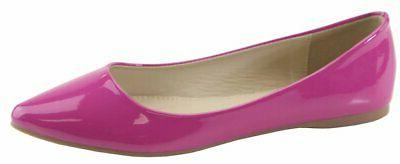 Bella Classic Pointy Toe Ballet Shoes