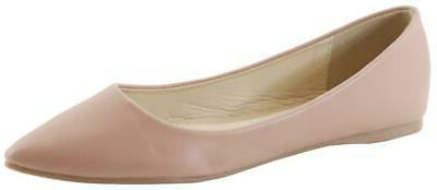 Bella Marie Women's Pointy Ballet Shoes