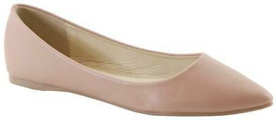 women s classic pointy toe ballet flat