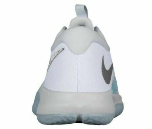 Nike Zoom Basketball Shoes 104 White Glacier Blue