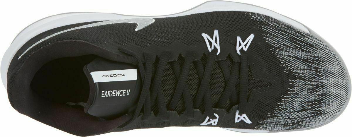 Nike Evidence Men Shoes 12 Black/Metallic 908976