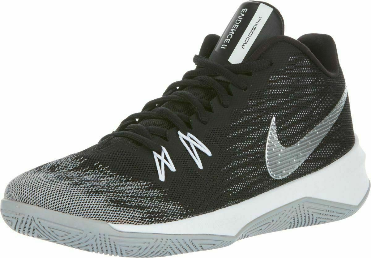 Nike Evidence II Black/Metallic Silver