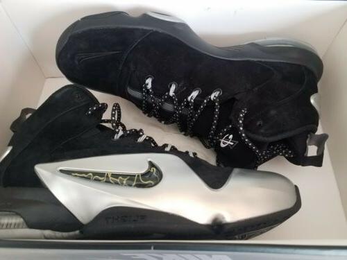 Nike 6 Black Silver Basketball Shoes 002 Size