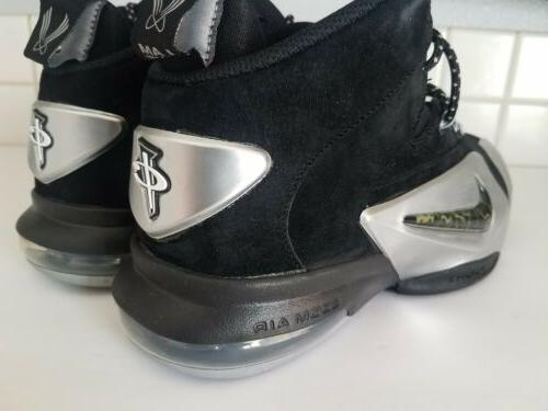 Nike Zoom 6 Black Silver Shoes Mens Size