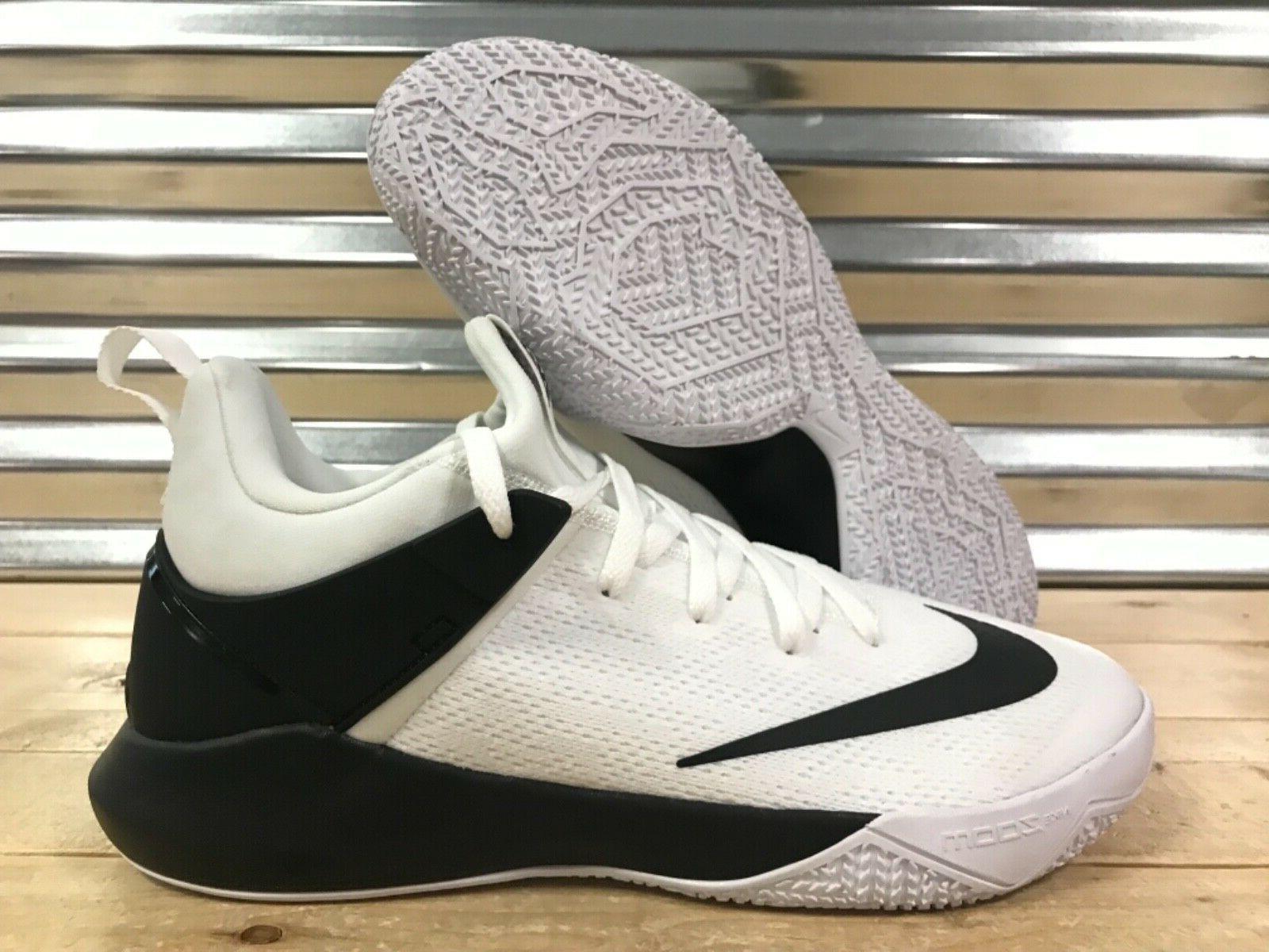 zoom shift tb basketball shoes white black