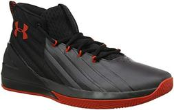 Under Armour Men's Launch Basketball Shoe, Black /Charcoal,