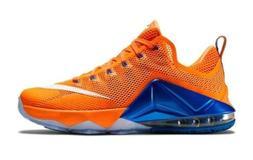Nike Lebron 12 XII Low Mens Basketball Shoes Size 13 Orange