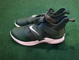 Nike Lebron Soldier 12 TB Forest Green Basketball Shoes AT38