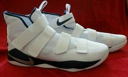 Nike Lebron Soldier Basketball Shoes Mens Size 18 White NEW