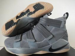 NIKE LEBRON SOLDIER XI SFG DARK GREY-BLACK-CIRCUIT ORANGE SZ