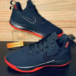 Nike LeBron Witness III Bred Men's Basketball Size 11 Black