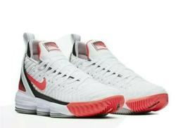 Nike LeBron XVI white lava new Basketball Shoes CI1521 100 m