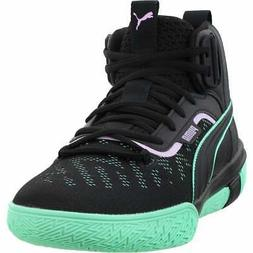 Puma Legacy Dark Mode  Casual Basketball  Shoes - Black - Me