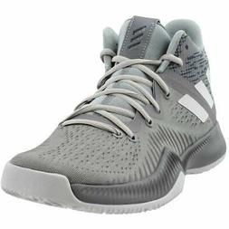 adidas Mad Bounce  Casual Basketball Court Shoes Grey Mens -