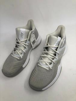 Adidas Mad Bounce Grey/FTW White/Grey Men's Basketball Shoes