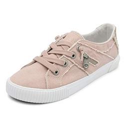 Blowfish Malibu Womens Fruit Shoes, Dirty Pink Smoked Canvas
