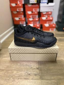 Mamba Kobe Basketball Shoes Black Gold Anthracite Men's 9089
