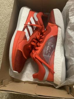 adidas Marquee Boost Low Men's New Red White Basketball Shoe