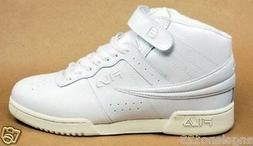 FILA Men F-13 Shoes Hi Top Basketball Athletic Sneakers Leat