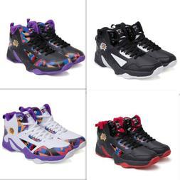 Men High-Top Basketball Sports Shoes Kids Boy Anti-Slip Outd