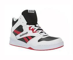 REEBOK Men Royal BB4500 Hi 2 Basketball Shoes White Black Re