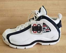 Fila Men's 96 Grant Hill Retro Basketball Shoes 10.5 White N
