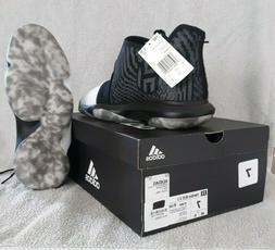 Boy's Adidas James Harden B/E 3 J Basketball Shoes Black Sz.