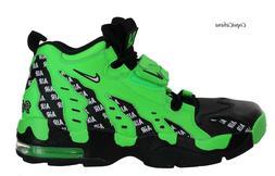"Nike Men's ""Air Diamond Turf Max '96"" Green Basketball Shoes"