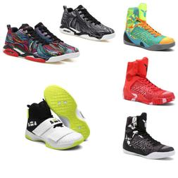 Men's Basketball Shoes Outdoor Athletic Sneakers High Top Sh