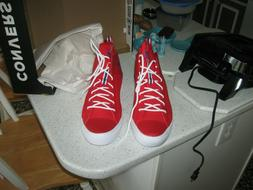 CONVERSE Men's Basketball Shoes, Red Rush/Blue/White,Size 13