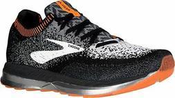 Brooks Men's Bedlam Running Shoes, Black/Grey/Orange, 13 D U