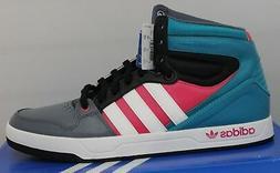 Men's Adidas Court Attitude Originals Basketball Shoes Teal/