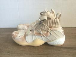 adidas Men's Crazy BYW X Basketball Shoes EE6005 Beige Camo