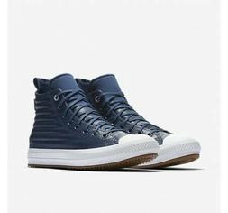 Men's Converse CTAS Hi Size 11.5 Waterproof Boots Blue Leath