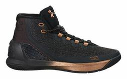 Under Armour Men's Curry 3 Athletic Basketball Shoes Black/C