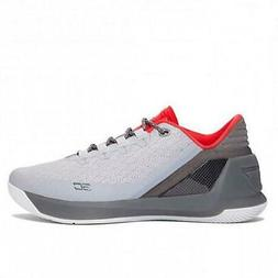 Under Armour Men's Curry 3 Low Athletic Basketball Shoes Gre